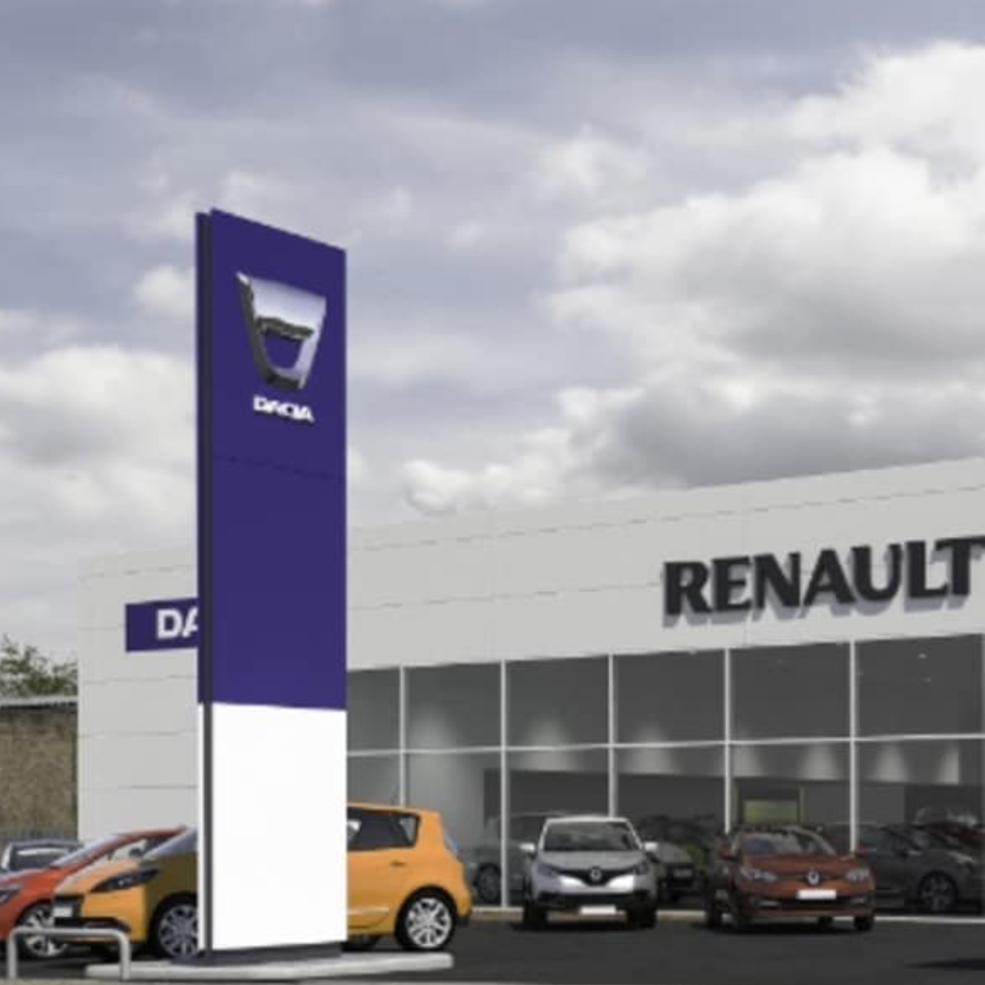 Renault / Dacia Showroom Chelmsford - 1